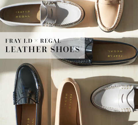 FRAY I.D × REGAL LEATHER SHOES