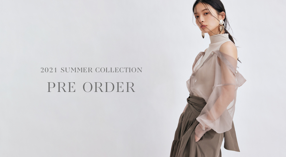 2021ss2nd PRE ORDER