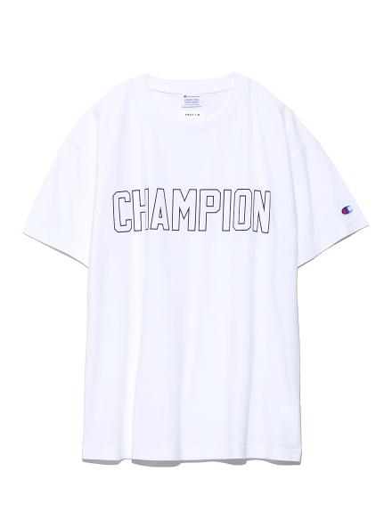 【FRAY I.D×Champion】ロゴTシャツ(WHT-F)