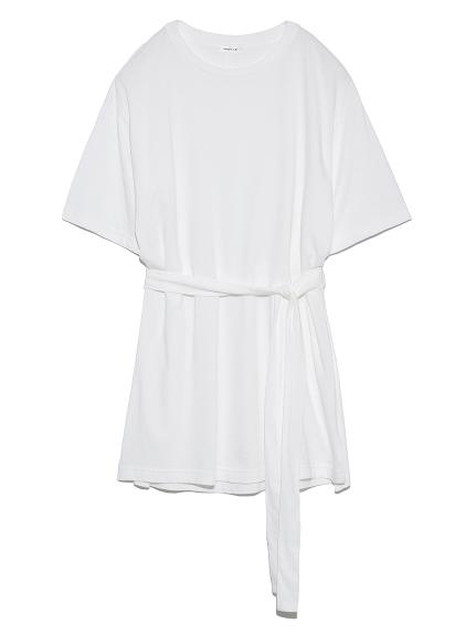 スリットワイドTシャツ(WHT-F)