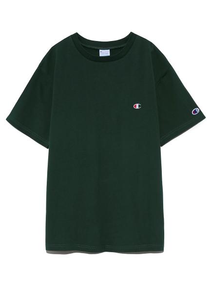 【FRAY I.D×Champion】バックロゴTシャツ(GRN-F)