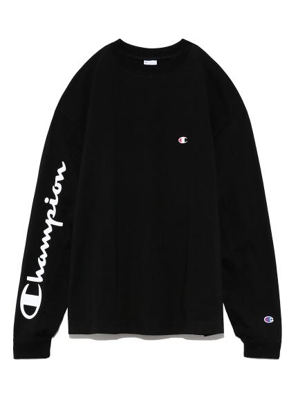 【FRAY I.D×Champion】スリーブプリントロングTシャツ