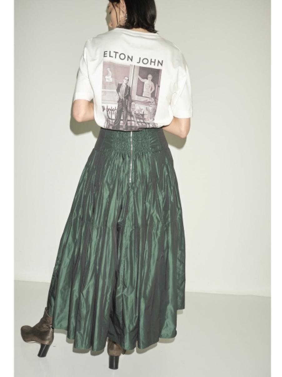バックプリントTシャツ(WHT-F)