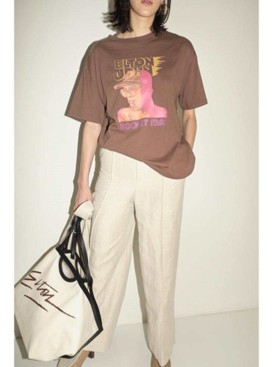 フェースグラフィックTシャツ(BRW-F)