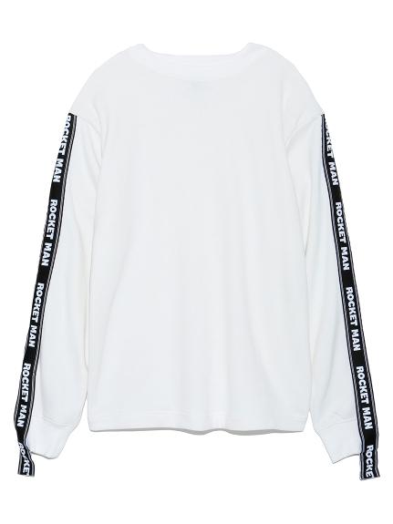 スリーブテープTシャツ