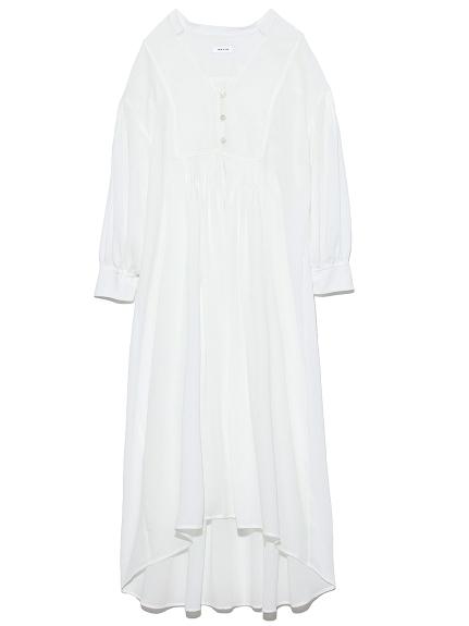 ヨークパイピングロングシャツ