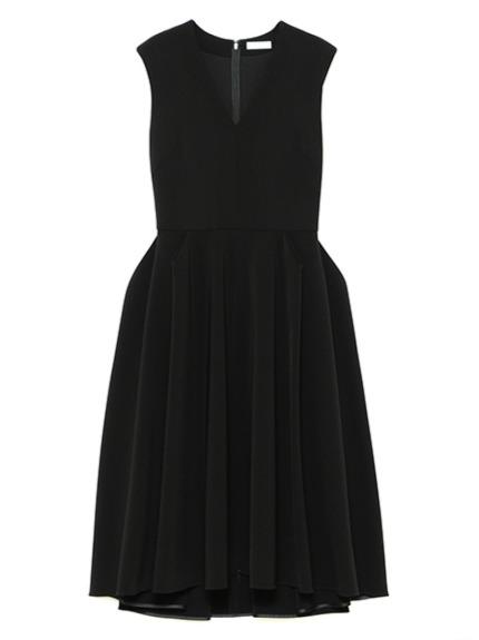 立体タックシームドレス