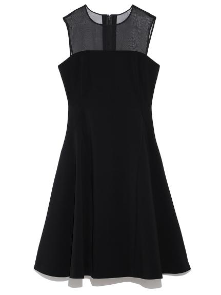 ベア切り替えドレス(BLK-0)