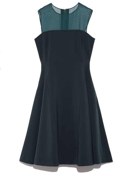 ベア切り替えドレス(GRN-0)