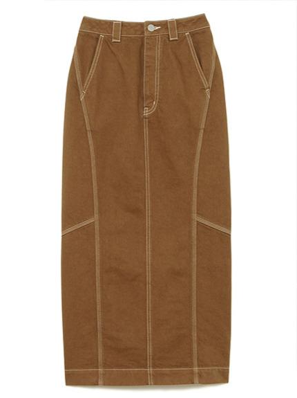 ツイルロングスカート