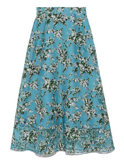 オパールナローロングスカート