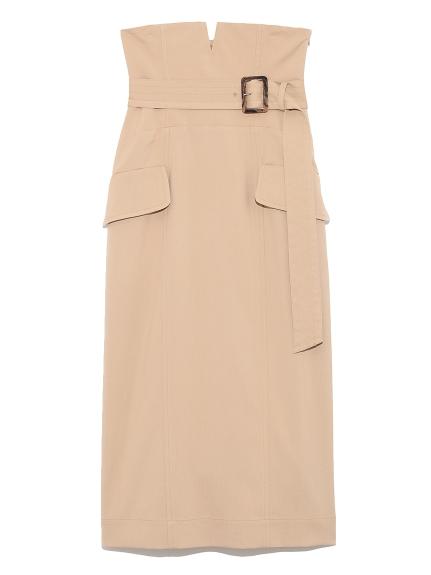 ハイウエストタイトスカート(BEG-0)