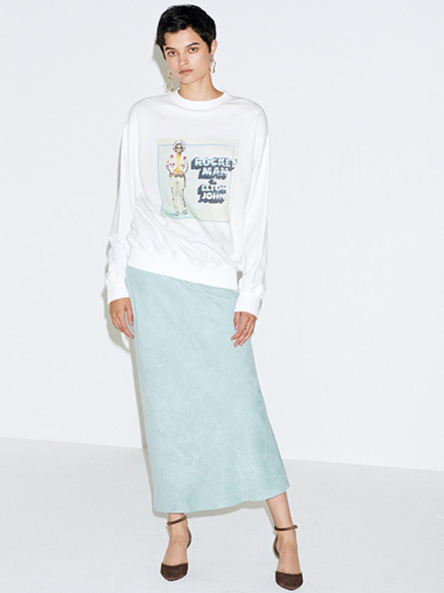 スエードナロースカート(MNT-0)