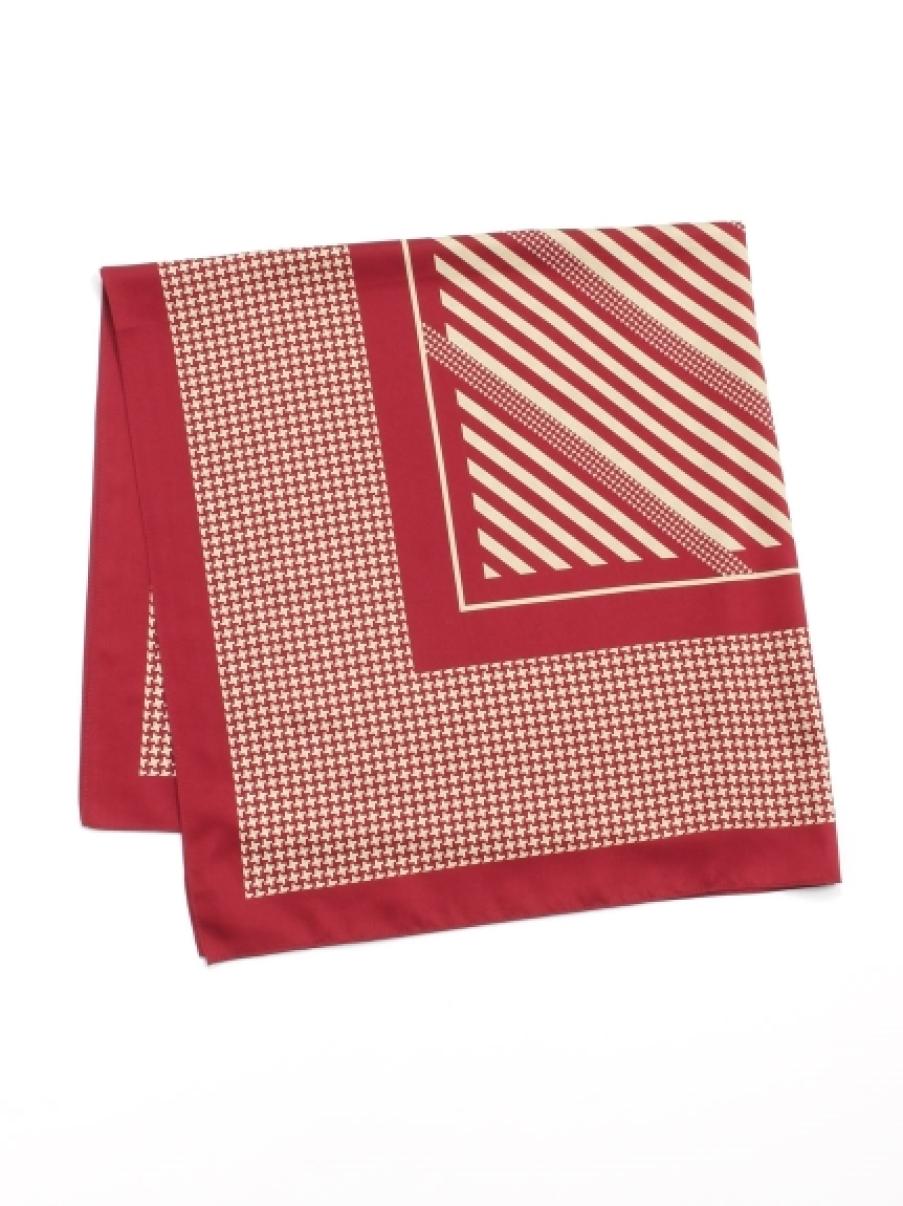 オリジナル大判スカーフ(RED-F)