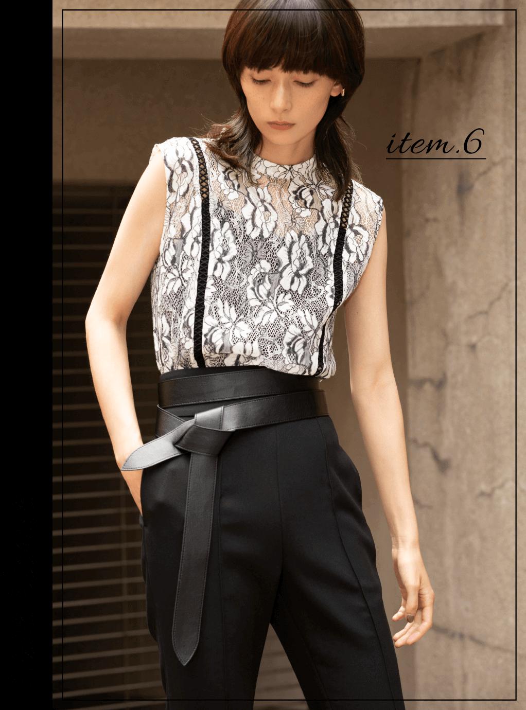item.6 Lace blouse