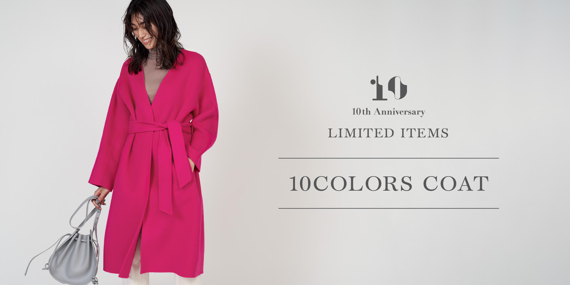 10th ANNIVERSARY LIMITED ITEMS 10COLORS COAT