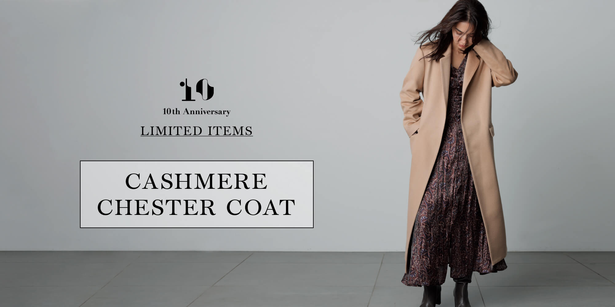 10th ANNIVERSARY LIMITED ITEMS collaboration with Mary al terna