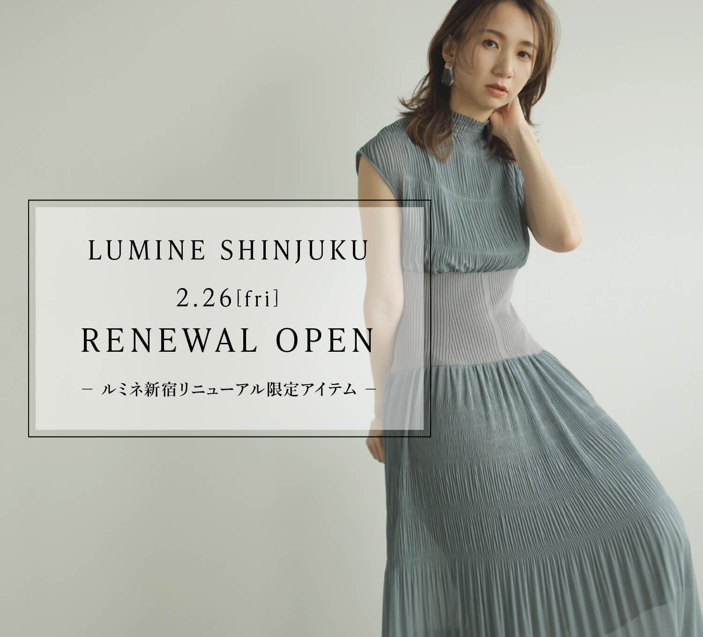 LUMINE SHINJUKU 2.26[fri] RENEWAL OPEN - ルミネ新宿リニューアル限定アイテム -