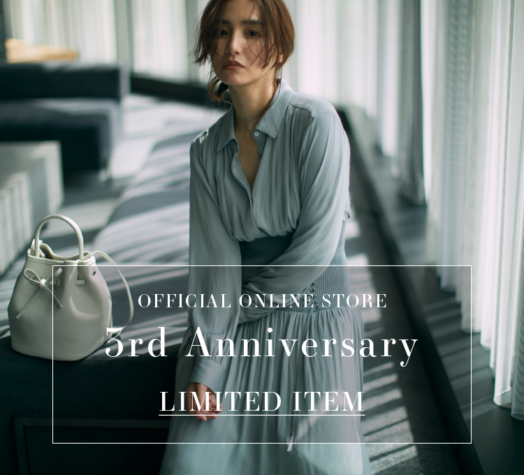 OFFICLAL ONLINE STORE 3rd Anniversary LIMITED ITEM